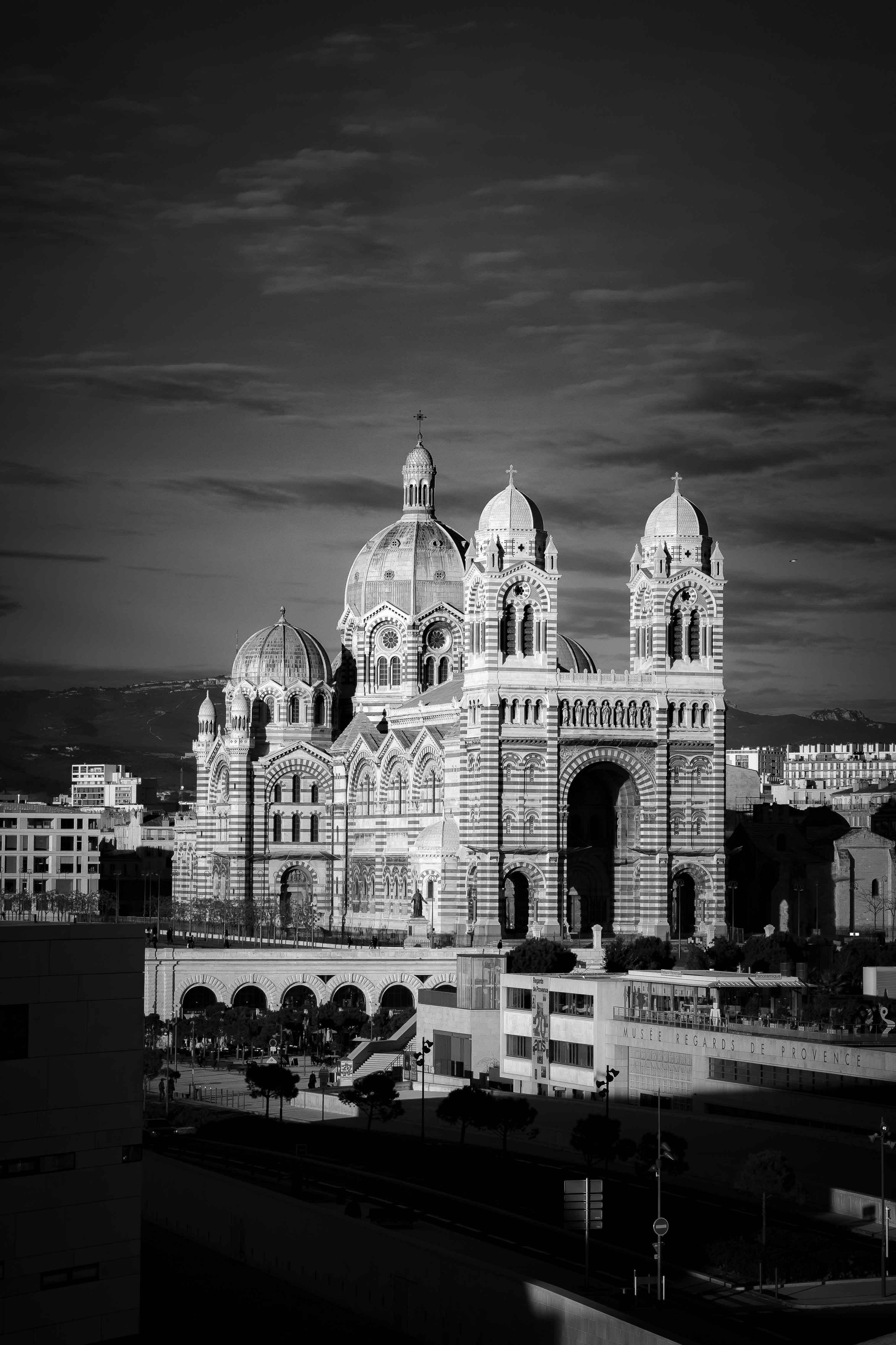 Site touristique pour la ville de Marseille