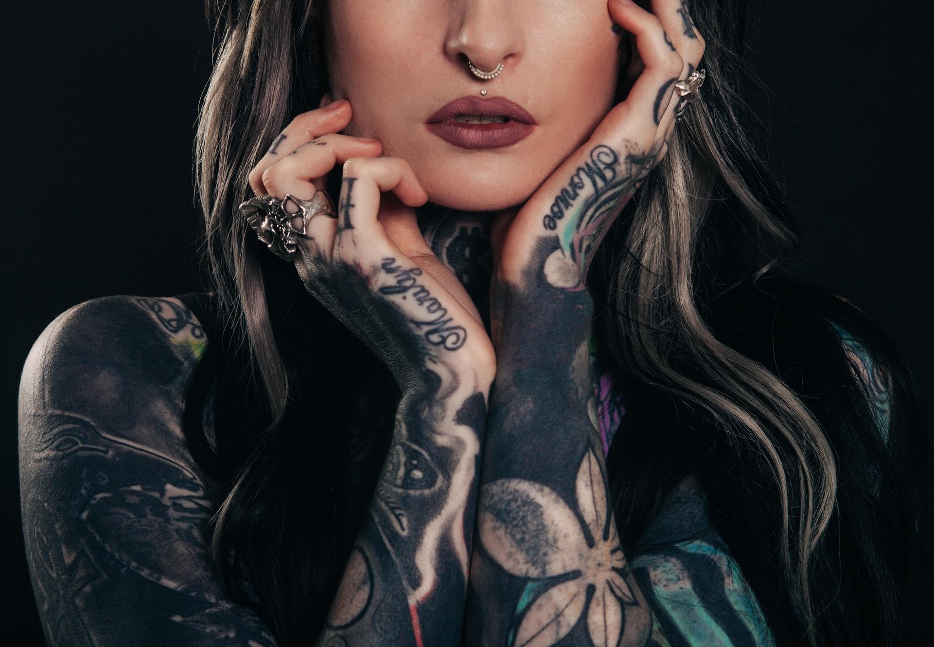 Maquette tatoueur